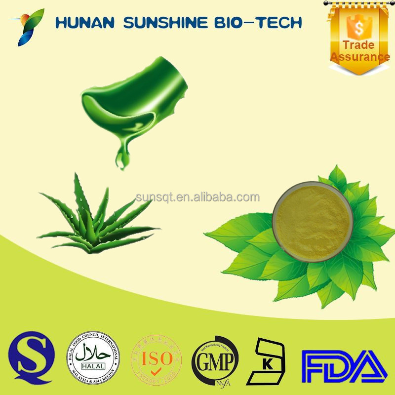 High quality with good price natural Aloe Vera Extract Aloevera 100x Powder