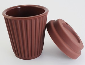 Eco-friendly Mult-Color Reusable Silicone Folding Coffee Cups With Lids