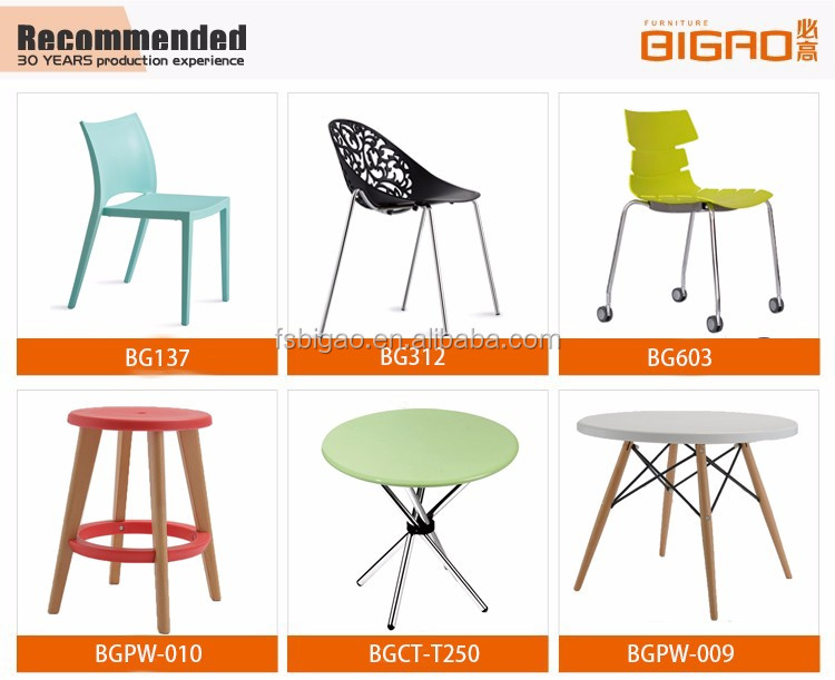 dining room furniture modern famous designer plastic folding chair