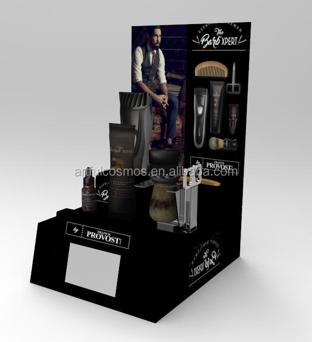 "2020 Acrylic display stands  with 5""  LCD media player for retail shop"