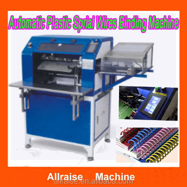 Full Automatic A4 Size Comb Binder/ Plastic Wire Binding Machine