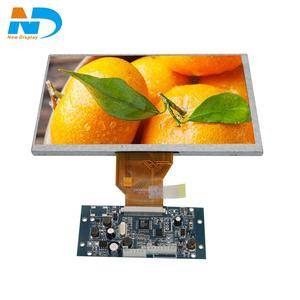 "7"" tft lcd panel 800*480 capacitive touch screen AT070TN83 V.1"
