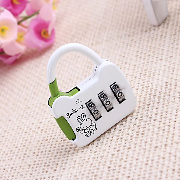 CH-13B Hot selling 3 digit combination padlock handbag
