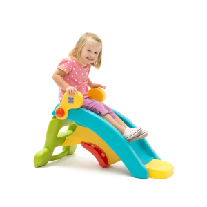 Preschool small plastic slide for kids