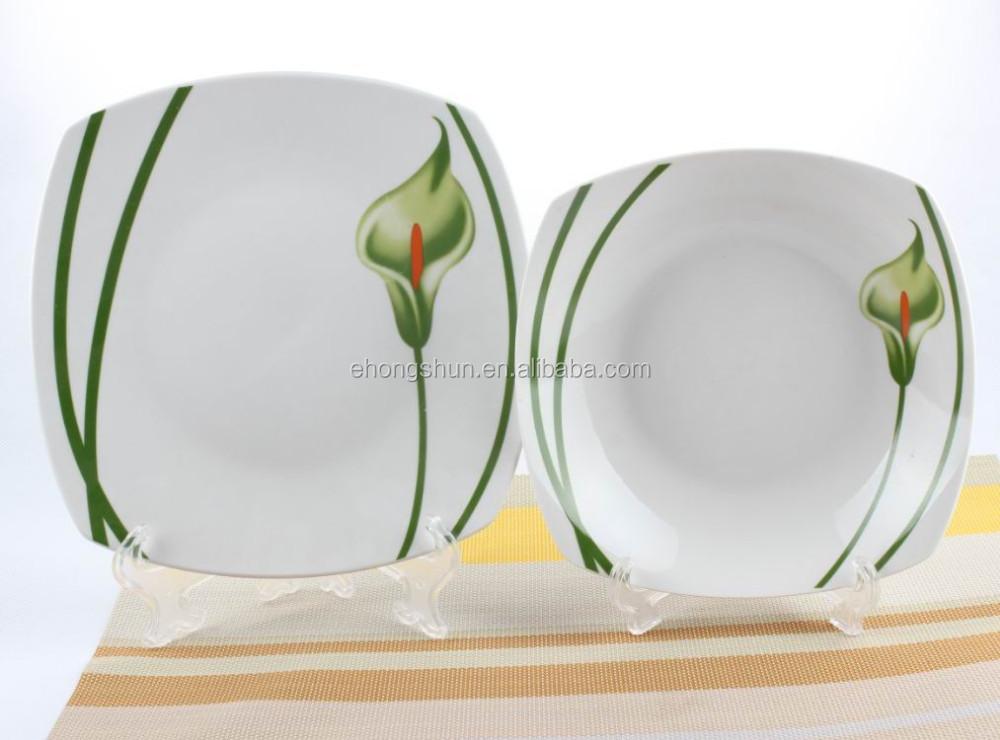 square ceramic plates ceramic plate dinner plate honghsun porcelain & Square Ceramic Plates Ceramic Plate Dinner Plate Honghsun Porcelain ...