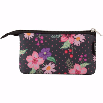 Hot Sale Custom Printed Kawaii Roll Pencil Case With Compartments