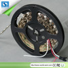 2016 1M 60led/m WS2812b led strip IP68 Waterproof Black PVC DC 5v led pixel strip SMD 5050 RGB