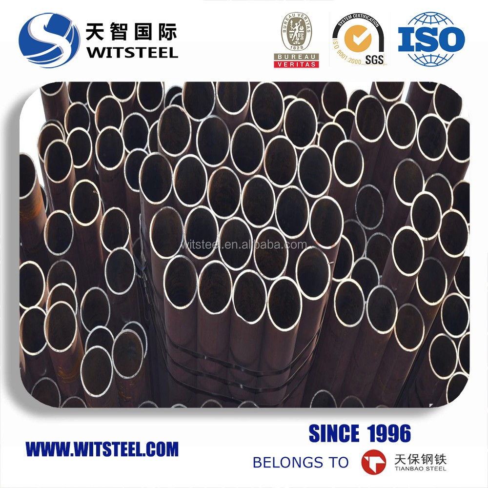 DIN 17175 ST35.8 api 5ct steel pipe for petro oil/natural gas/coal gas