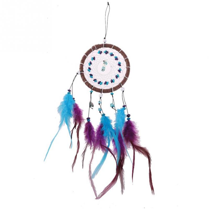 New Fashion Wind Chimes Indian Style Feather Pendant Dream Catcher Gift Home Decor