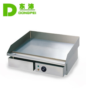 stainless steel table top flat griddle/pancake griddle electric
