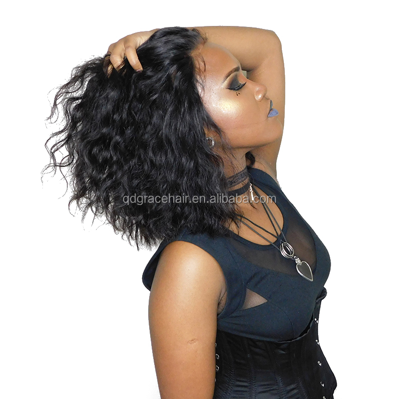 Alibaba.com / Brazilian hair wholesale wigs human virgin hair wavy full lace wig