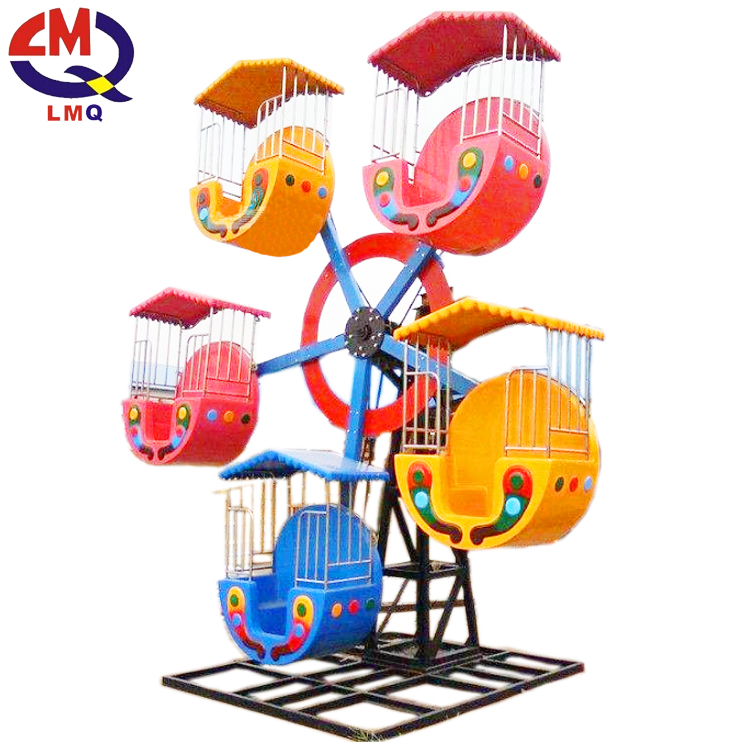Amusement park carnival game kids mini ferris wheel for sale