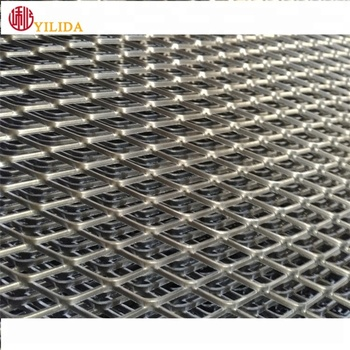 304 316 316l stainless steel expanded metal wire mesh