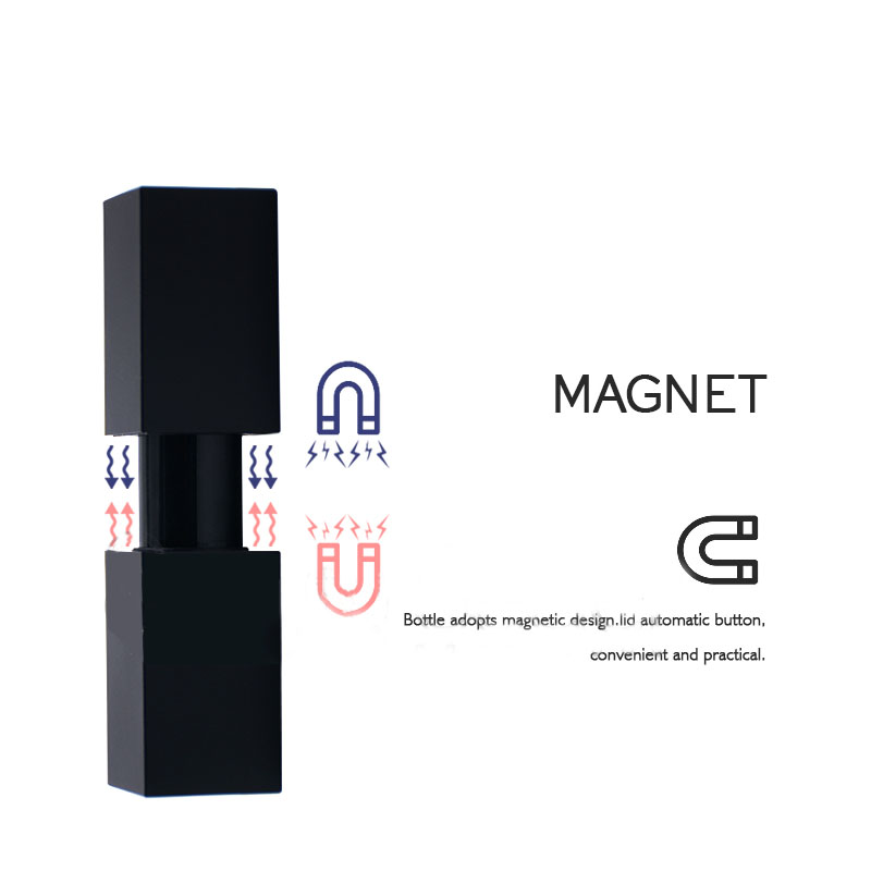 Customize private label health magnetic tube waterproof matte lipstick
