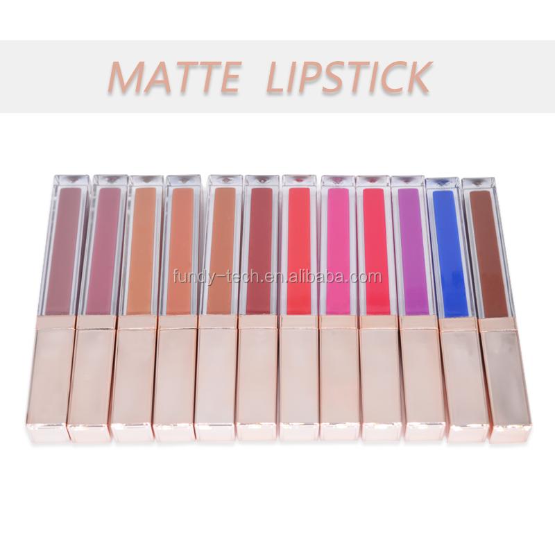 10pcs Promotion 5g PP Empty Plastic Lipstick Tube Red
