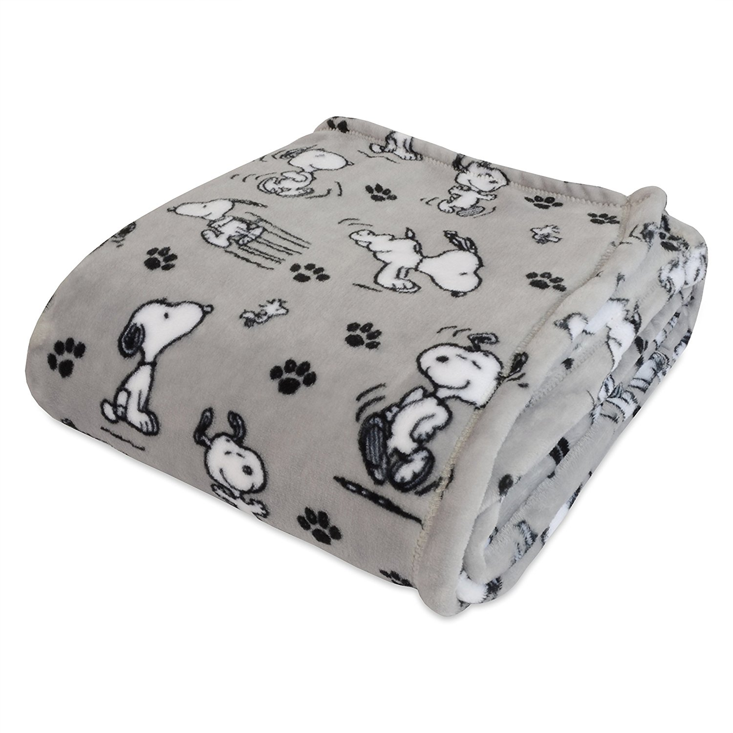 Peanuts Snoopy Plush Throw Blanket