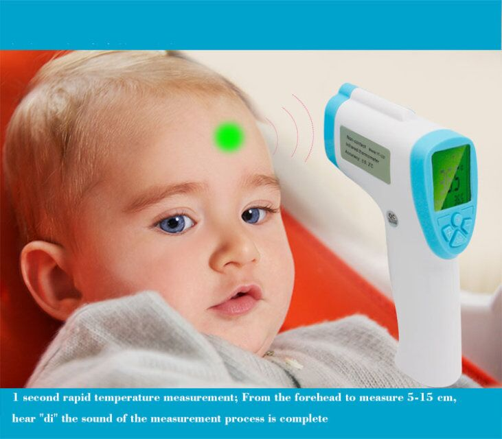 Amazon hot sale infrared thermometer, termometro digital baby
