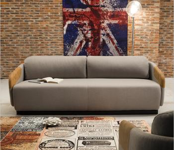 Model Vintage Style Sofa Living Room