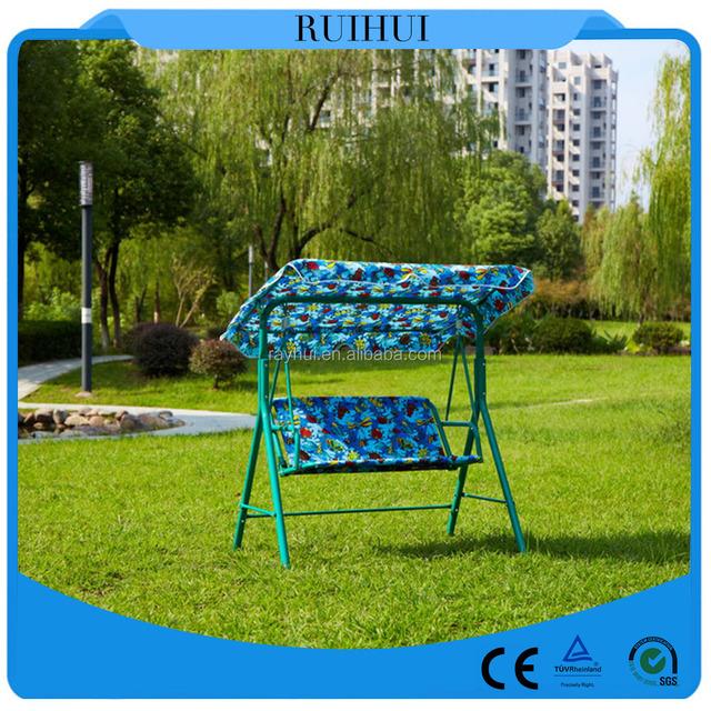 Garden Swing Chair/outdoor Kids Swing Chair/3 Steats Luxury Swing Chair