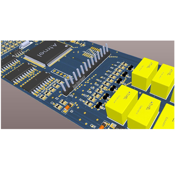 Circuit Board Gerber Files Layout Eagle Cad Software Designed Pcb ...