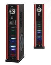 With micro input multimedia subwoofer speaker system