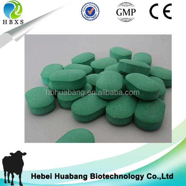 HBXS factory GMP veterinary medicine best albendazole 250mg tablet