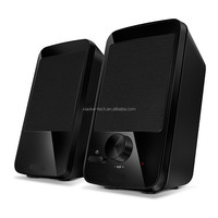 2.0 stereo speaker system for home and office use
