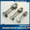 Hardened and Tempered M80 grade 5 Cadmium Plating B766 railway fish plate galvanized butterfly bolt and nut