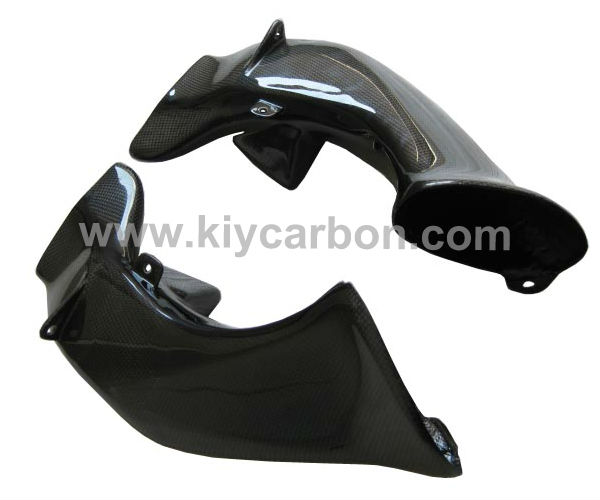 Carbon fiber motorcycle part ram air duct covers for Yamaha r1