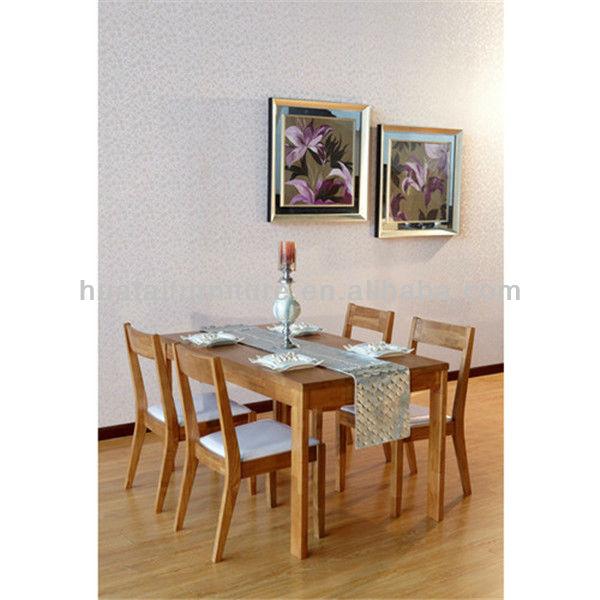 Mesa comedor moderna silla de madera maciza conjuntos y reposteria ...
