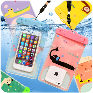 Hot Selling and Useful Soft PVC Waterproof Bag Mobile Phone Waterproof Case