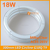 300mm clear led ring light G10Q/ led circular tube with 300mm 18w