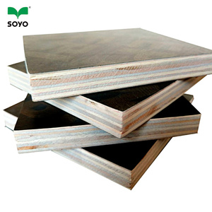 Construction Used black film phenolic coated plywood 18mm