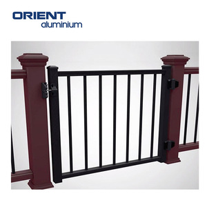 High quality factory price aluminium fence 4x4 galvanized square metal fence posts