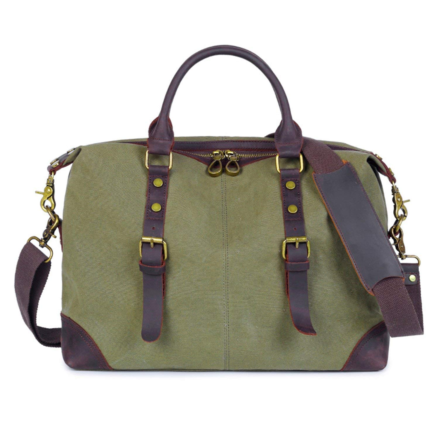 Get Quotations Men S Messenger Bag Ouyate Laptop Travel Durable And Rugged Wash Canvas