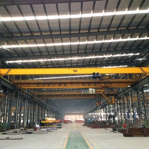 european quality workshop 15t overhead traveling crane china supplier for sale