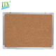 Standard sizes flexible and soft decorative memo message notice cork board