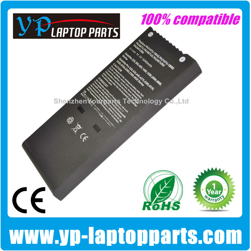 PA3107U-1BAS PA3107U-1BRS Rechargeable li-ion battery PA3107 for Toshiba Satellite 1400 1500 1800 2410 250 2600 2700 2800 Series