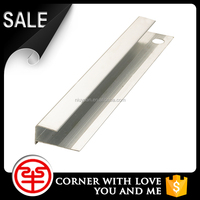 Aluminium skirting board beading for decoration tile trim
