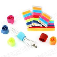 Multifunctional Magic tape hook loop cable ties with CE certificate