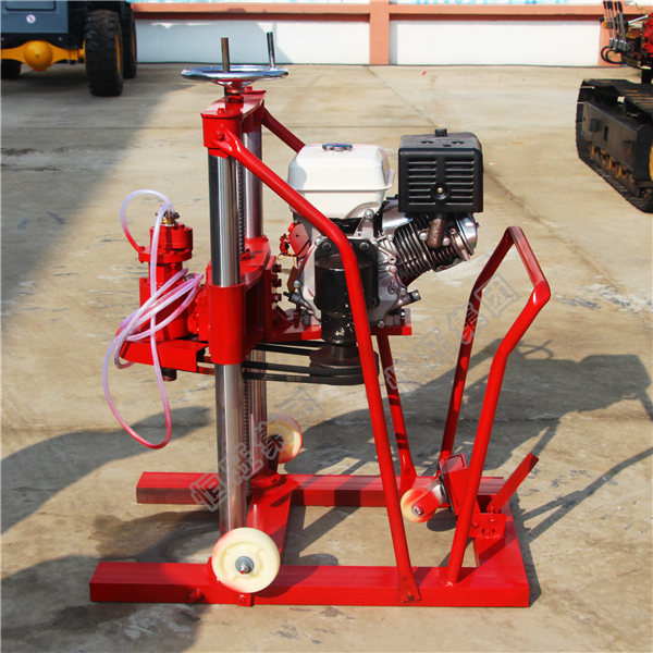 core sample drilling rig / rock drilling machine with video