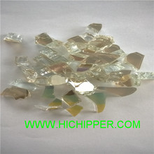 Hichipper fire glass for gas log fire