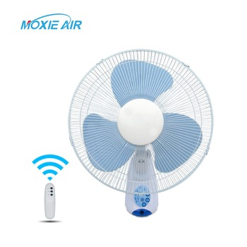 16 Remote Control Fan Wall Mount Oscillating Fans Electric Table Mounted