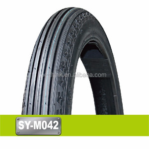 Top quality swallow brand motorcycle tyre 2.75-17 18
