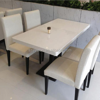 Custom Made Stone Top Dining Pool Table,Acrylic Solid Surface Table  Tops,Restaurant Dining Table And Chair - Buy Restaurant Dining Table And ...