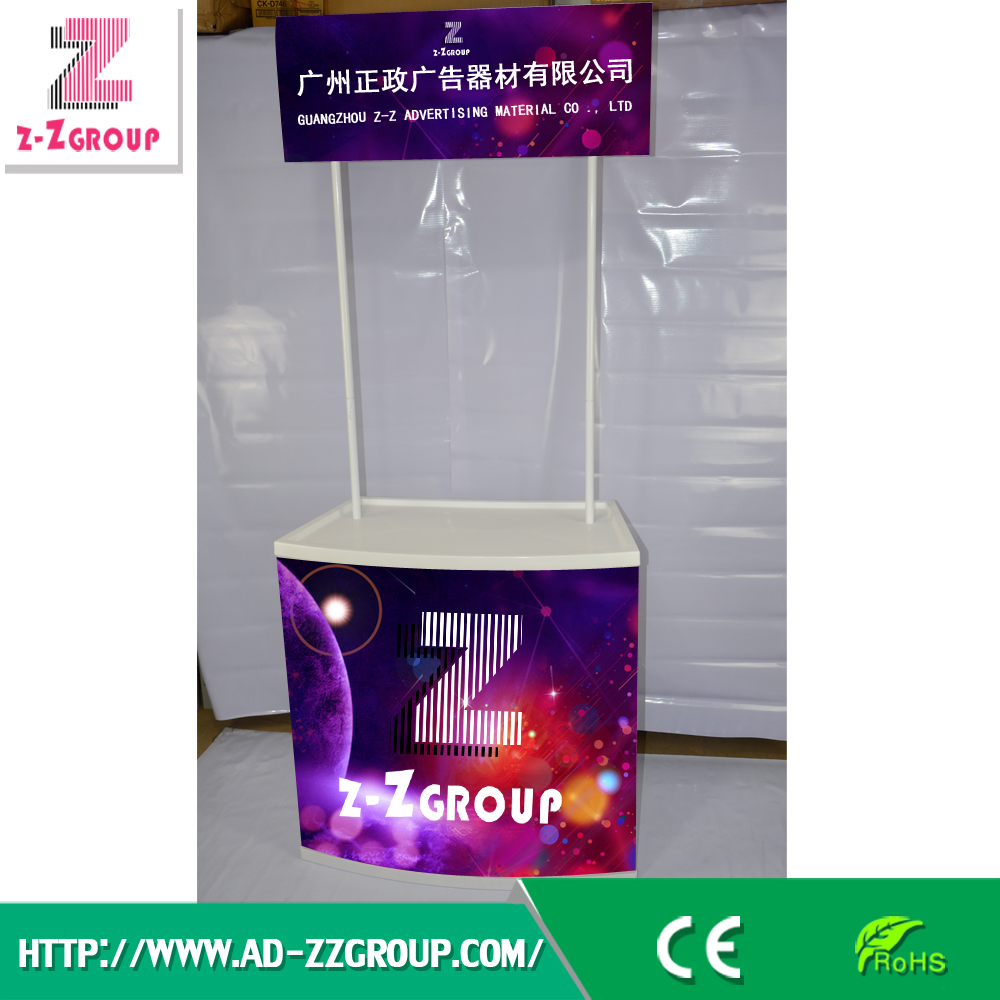 PP Promotion Table Foldable Booth / Advertising Counter