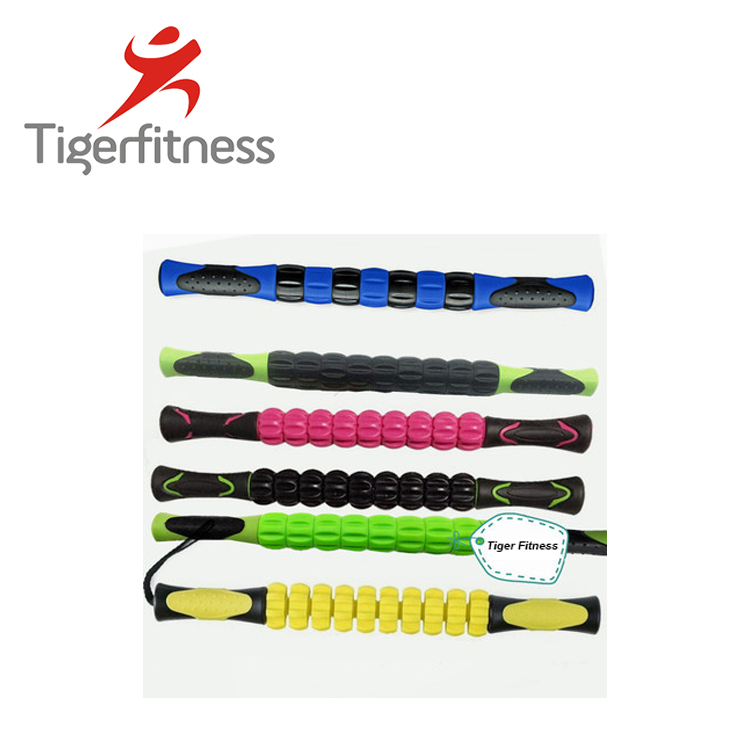 Tiger Fitness Hot selling mini beauty roller for runner Massager Tool deep tissue muscle massager foot massage stick