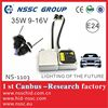 HID Ballast xenon bulb 12v 35w h1 h3 h4 h7 9005 9006 with E-MAR, CE & ROHS for golf6