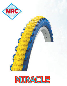 supply yellow and blue color Bicycle Tyre 26*2.125 24*2.125