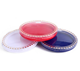 Cosmetic container empty 15g red yellow blue rim square cosmetic air BB cushion compact foundation container with mirror